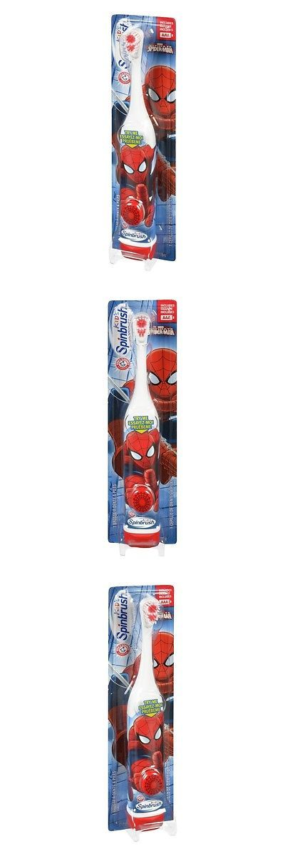 Childrens Oral Care: Arm And Hammer Kids Spinbrush Spiderman 1 Each Pack Of 5(Design May Vary), New BUY IT NOW ONLY: $34.16