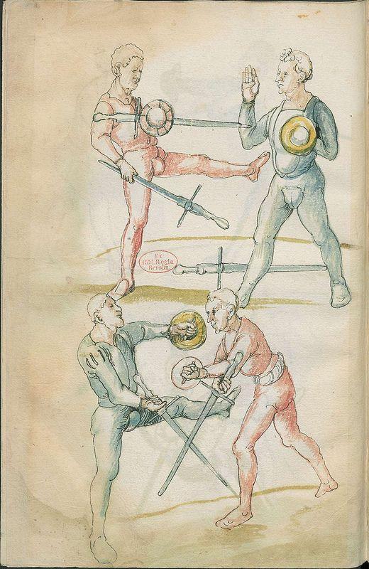 Manuel de combat à l'épée - 1500 - La boite verte