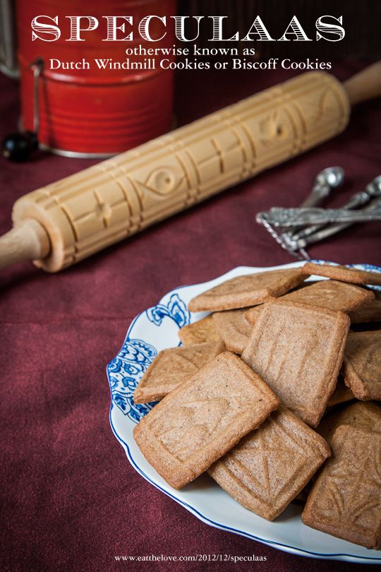 Speculaas Cookies by Irvin Lin of Eat the Love #NYTHoliday #Recipe