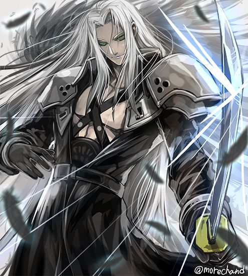 1071 Best Sephiroth Images On Pinterest Animation