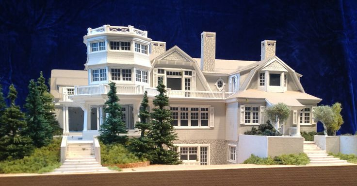 The Hamptons New York Mansions | ... Models Created for Frank Greenwald Architect, East Hampton, New York