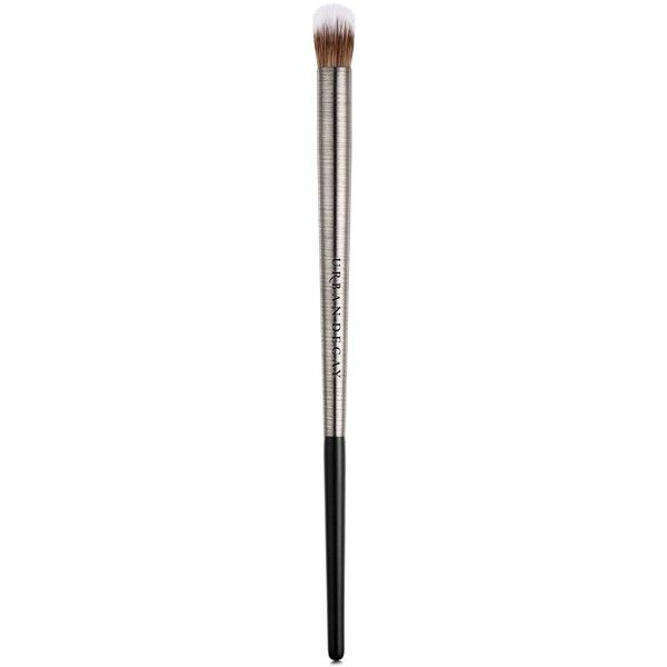 Urban Decay Brush Domed Concealer ($26) ❤ liked on Polyvore featuring beauty products, makeup, makeup tools, makeup brushes, no color, urban decay and urban decay makeup brushes
