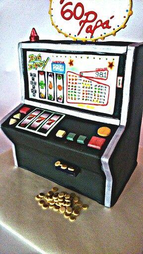 Tarta tragaperras,  slot machine cake