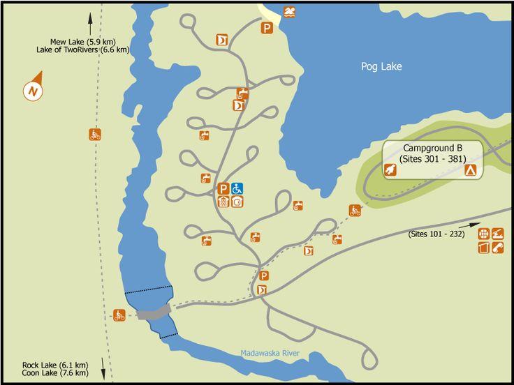 Pog Lake Location Map