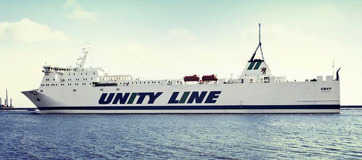#unityline #prom #ferry #gryf #sea #poland #sweden #świnoujście #szczecin #ystad