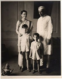 Indira Gandhi married Feroze Gandhi in 1942.   They had two sons - Rajiv (b. 1944) and Sanjay (b. 1946). Her younger son Sanjay had initially been her chosen heir; but after his death in a flying accident in June 1980, Gandhi persuaded her reluctant elder son Rajiv to quit his job as a pilot and enter politics in February 1981. Over a decade later, Rajiv Gandhi was assassinated.