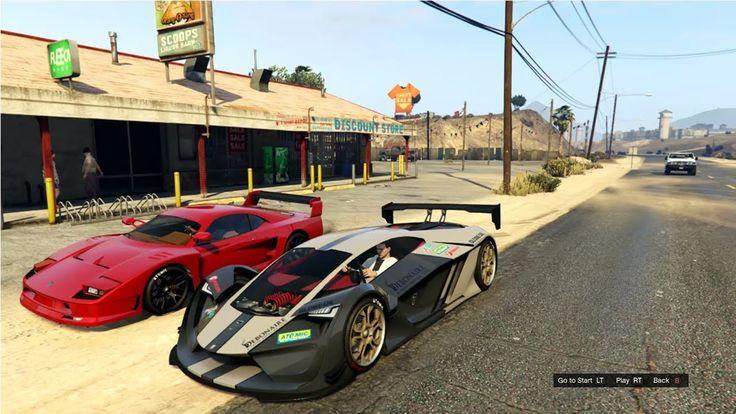 Gta 5 Online Pegassi Tezeract Vs Grotti Cheetah Classic Gta Cars Cool Sports Cars Gta
