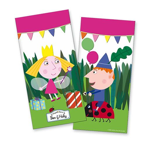 Ben & Holly's Little Kingdom Party Bags - Ben & Holly Party - Party Ark