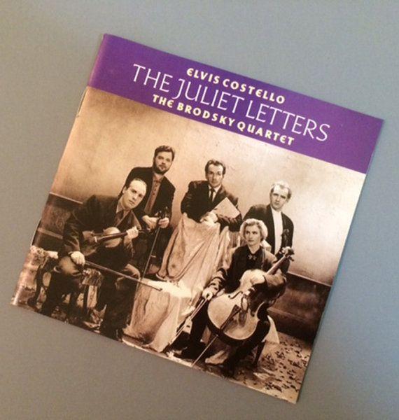 CD: Elvis Costello/The Brodsky Quartet  The Juliet by RockPopAtoZ