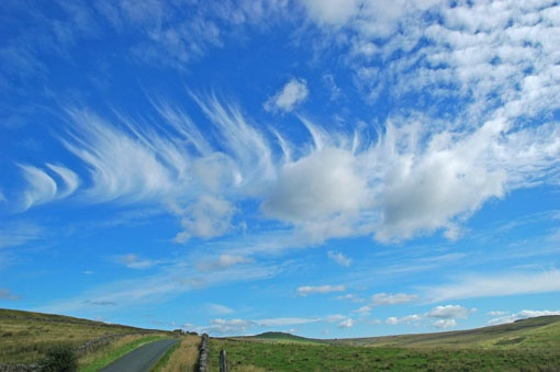 Clouds over Nidderdale, North Yorkshire