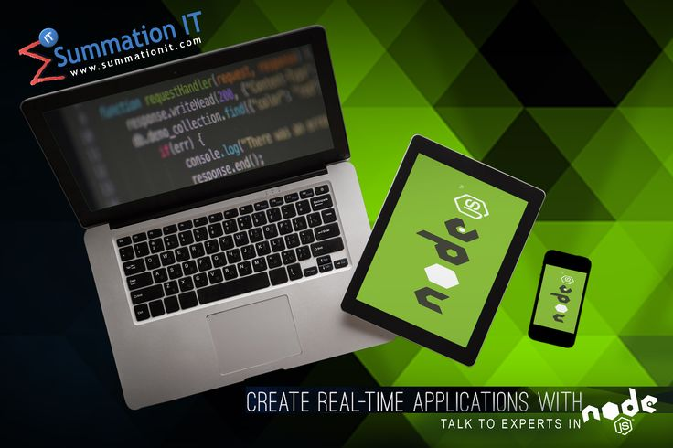 Create Real Time Applications with #nodejs. #NodeJS is an #opensource #JavaScript runtime built on #Google Chrome's V8 #JavaScript Engine. Our in-house Experts and skilled #nodejs developers help you to develop your application ontime and as per the requirement. Talk to our team today, for more information on #nodejs development. Please browse http://www.summationit.com/nodejs-development for our offered #nodejs #services.
