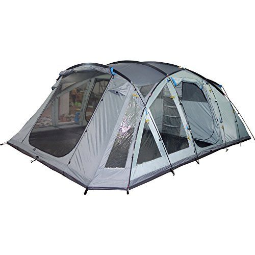 skandika Skaland 5 Person Man Large C&ing Tunnel Tent with Sewn-In Groundsheet 3000mm  sc 1 st  Pinterest & 156 best Camping Tents images on Pinterest