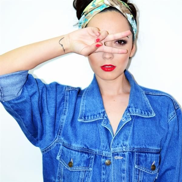 Vintage Denim Jacket by Alexandra Moldovan