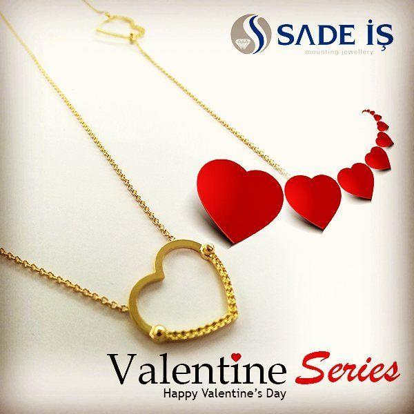 #pırlanta #montür #mücevher #sadeis #valentineday #valentinedaygift#valentine #valentineday16#valentineday2016#gold #necklace #gift #diamond #mounting #jewelry #jeweler #elmas #bracelet #necklace #heart #solitaire #solitario #solitär #newcollection #design #handmade #turkey #istanbul #wholesaler #montatura by sade_is