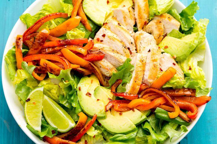 Fajita Chicken Salad  - Delish.com