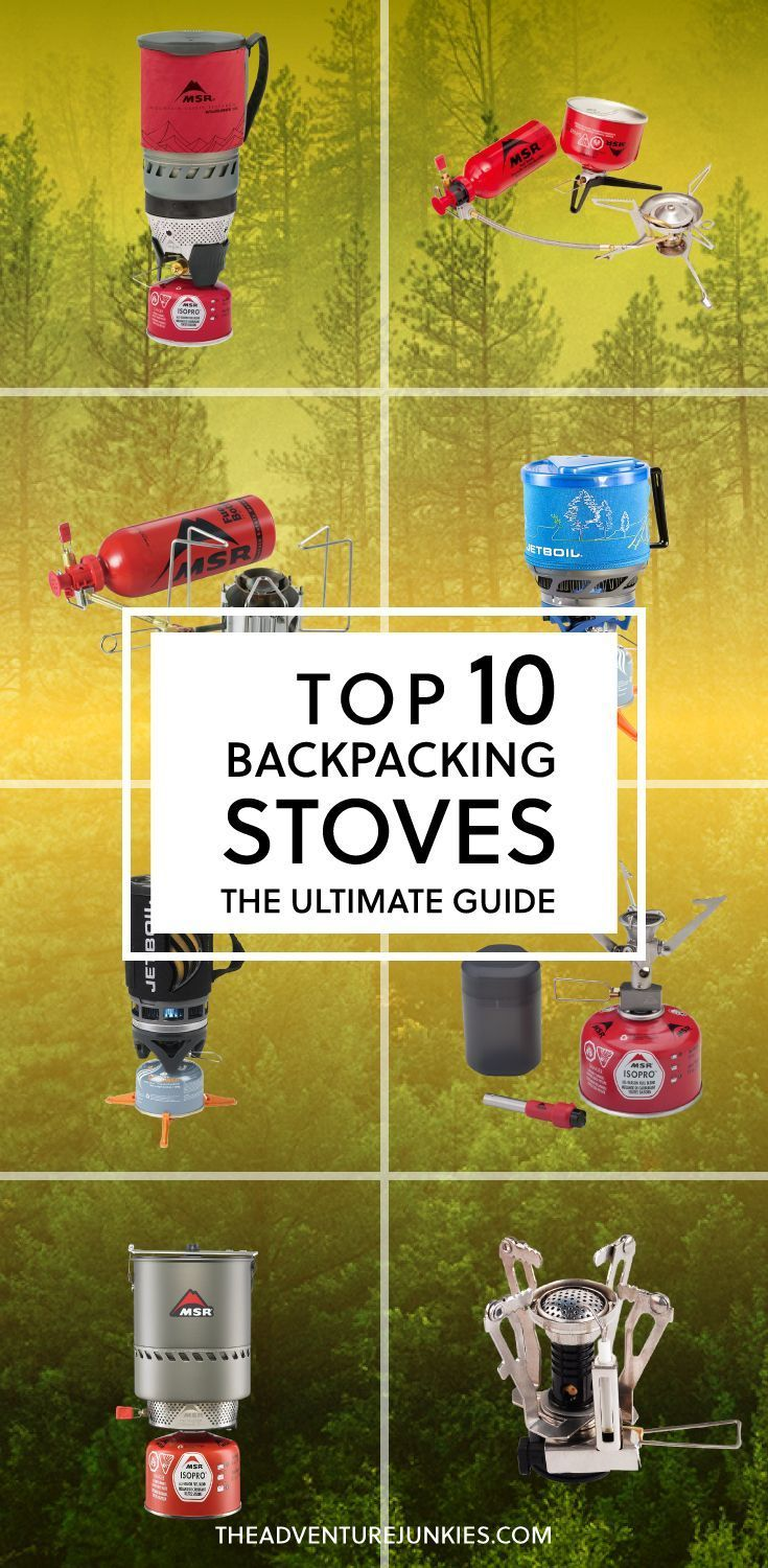 Top 10 Best Backpacking Stoves – Best Camping Gear – Hiking Gear For Beginners – Backpacking Equipment List for Women, Men and Kids