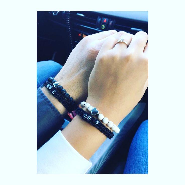 Handmade Love pair bracelets