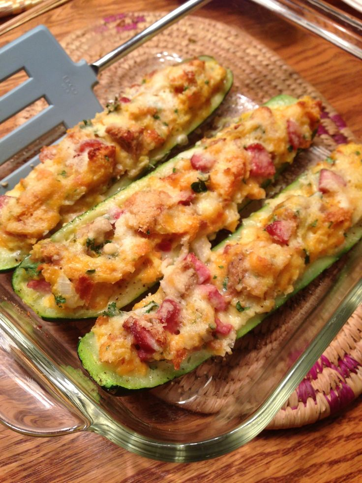 144 Best Zucchini Boats Images On Pinterest Vegetarian