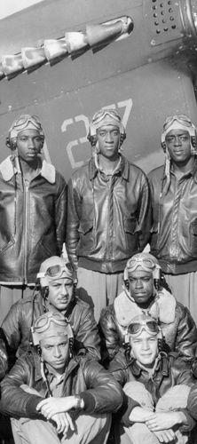 World War II Tuskegee Airmen.