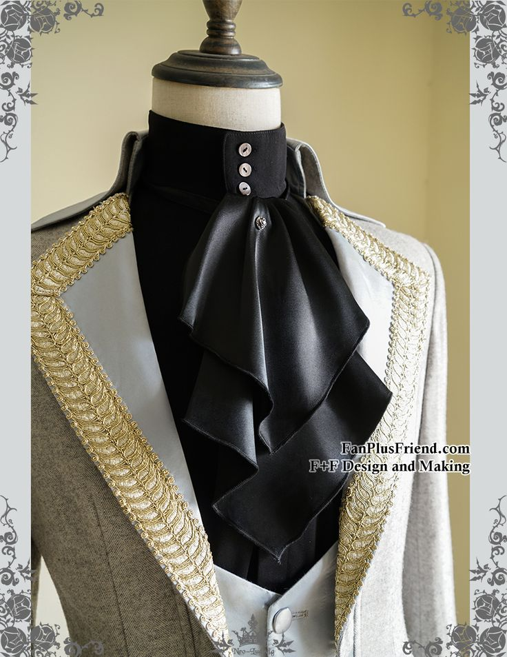 fanplusfriend - Steel Rose, Elegant Gothic Aristocrat Dandy Ouji Slim Jabot/Cravat*2colors Instant Shipping, $9.00 (http://www.fanplusfriend.com/steel-rose-elegant-gothic-aristocrat-dandy-ouji-slim-jabot-cravat-2colors-instant-shipping/)