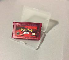 Pokemon Ruby Version Red Nintendo Gameboy Advance GBA FREE SHIPPING  get it http://ift.tt/2c8WIpW pokemon pokemon go ash pikachu squirtle