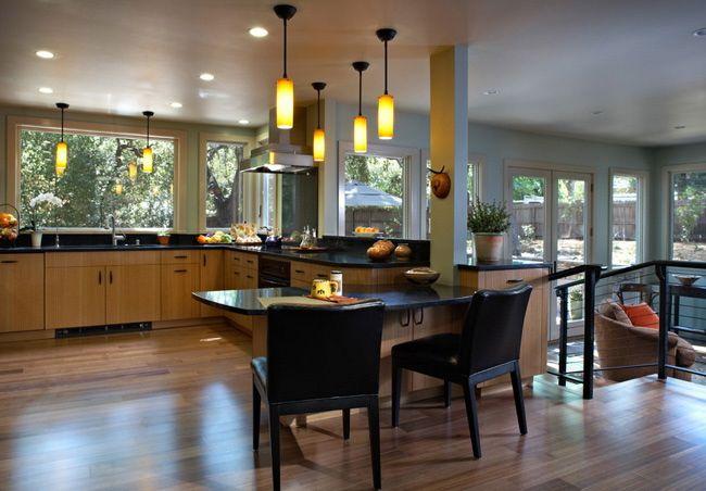 horizontal bamboo hardwood flooring