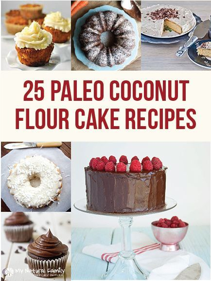 Paleo Coconut Flour Cake Recipes