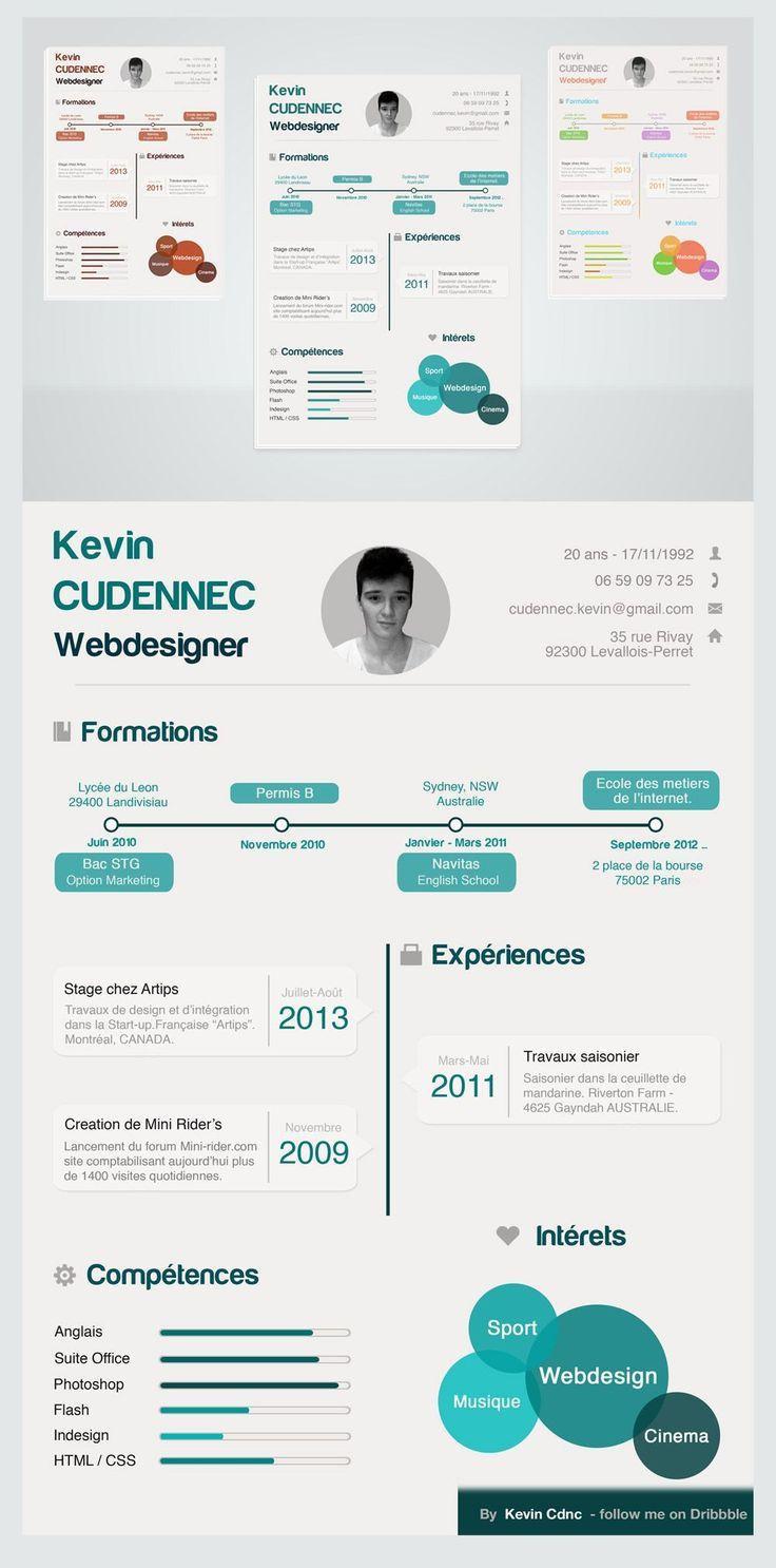 Die besten 25+ Web developer cv Ideen auf Pinterest | Web Designer ...