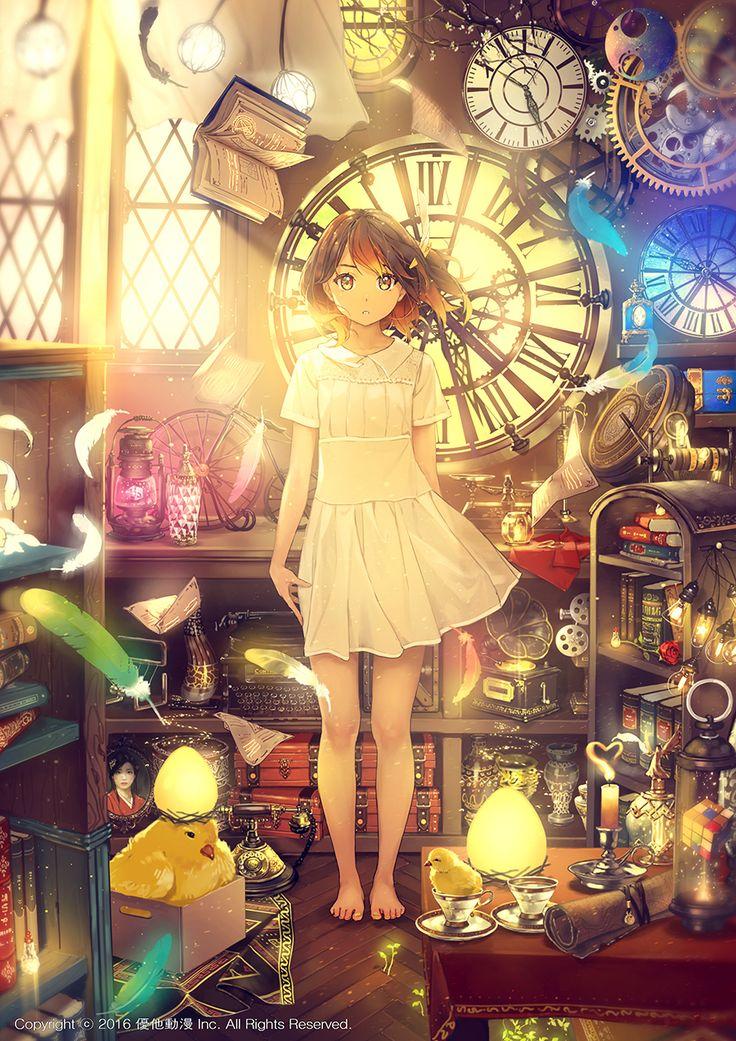 優他動漫 | promotion illust / Vocaloid MUTA YanXi(嫣汐) | 다섯 가지 마법 / 5つの魔法 / There are five Magic 1607 / Photoshop CC / 3508x4962