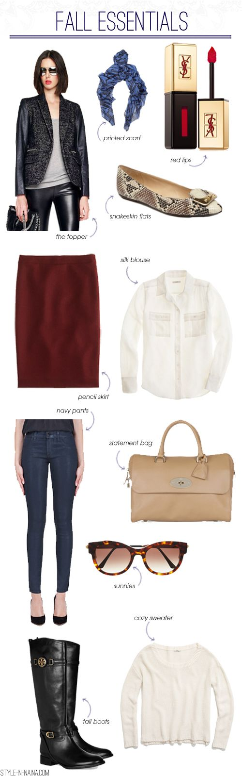 FALL ESSENTIALS | STYLE'N: Fall Style, Fall Wins, Fall I Fall, Essential Wardrobes, Fall Fashion, Basic Fall, Fall Fall, Fashio Clothing, Fall Essential