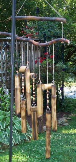 Bamboo Windchime - Bamboo Arts and Crafts Gallery