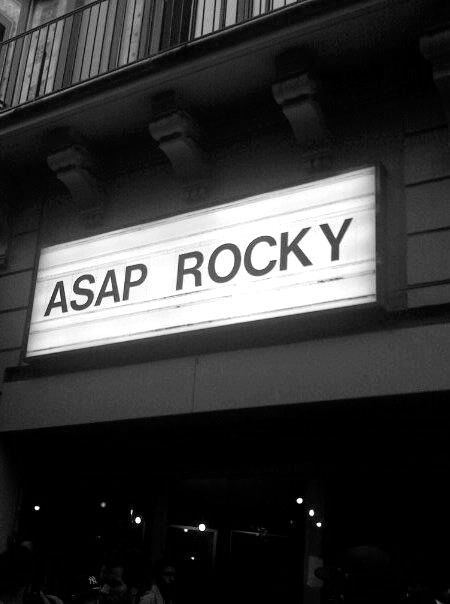 ASAP Rocky not long!!!!!
