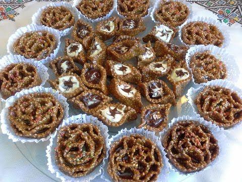 أنتِ أحلى | موسوعة تعليم فن الحلويات : بالفيديو طريقة تحضير السمسمية من معسلات رمضان 2016