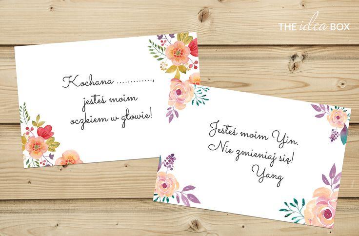 Pakiet kolorowych liścików miłosnych, które zaskoczą Twoją drugą połówkę. Pobierz, wydrukuj, wytnij i pokaż swoją miłość!