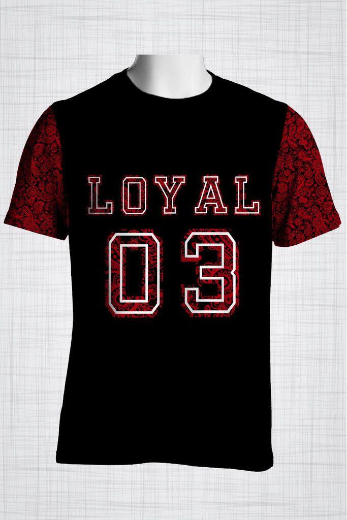 Plus Size Men's Clothing Red LOYAL 03  paisley print CC0444 #plussizemensclothing