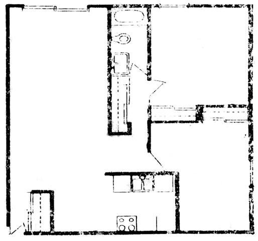 2 bedroom from Northway Apartments