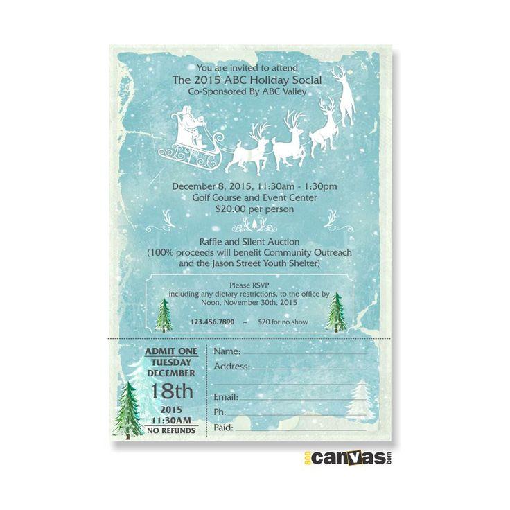 101 best Seasonal Invites images on Pinterest | Invites, Christmas ...