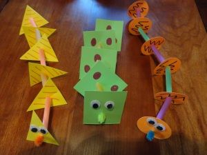 shapes craft ideas 17 best images about serpents on craft 2912