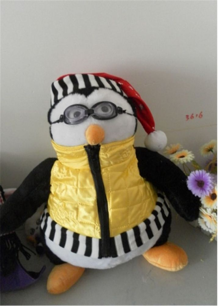 FashionTV Serious Friends Joey's Friend HUGSY Plush PENGUIN Rachel Stuffed Doll  #New