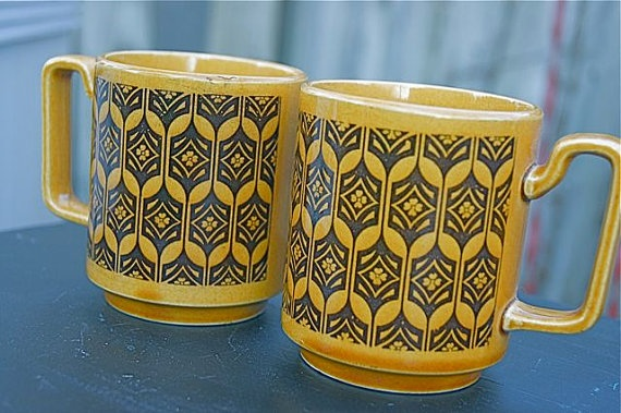 Hornsea Pottery mugs
