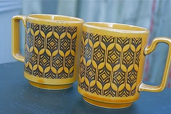 Hornsea Pottery mugs