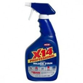 X-14 260800 Professional Mildew Stain Remover, 32 oz. Trigger Spray