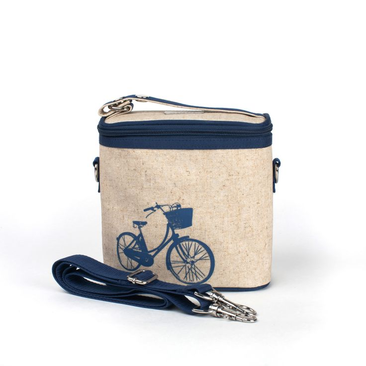 Blue Bicycle Small Cooler Bag ....for when you want to go on cute picnics? haha
