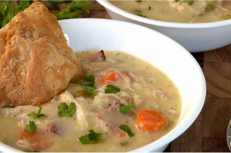We're Drooling Over Chrissy Teigen's Chicken Pot Pie Soup