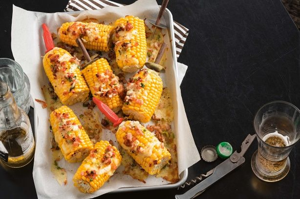 Turn corn on the cob into an even more delectable sensation with this finger licking recipe.