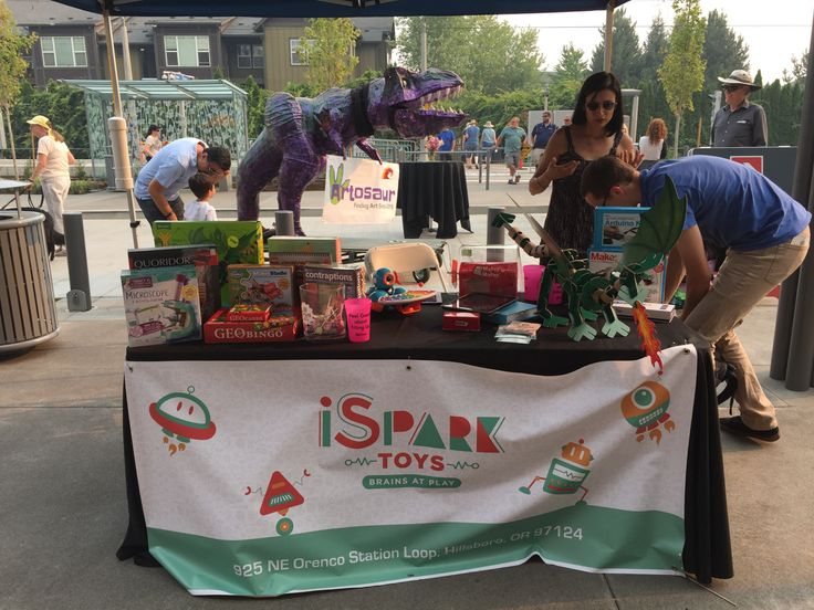 #Artosaur eagerly awaiting his kind of store- Ispark Toys at Orenco
