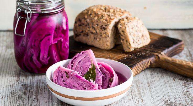 Что можно сделать с фиолетовой капустой?