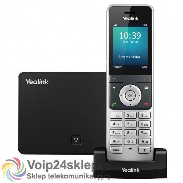 TELEFON BEZPRZEWODOWY VOIP YEALINK W56P