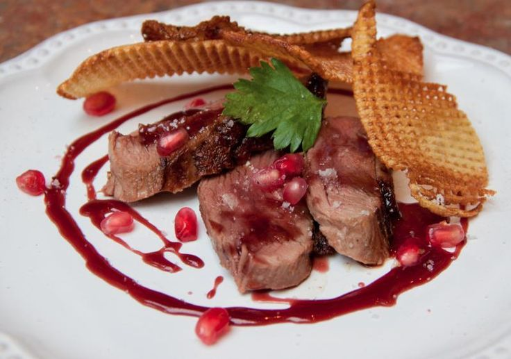 Gojee - Duck Breast with Pomegranate Reduction by She Paused 4 Thought