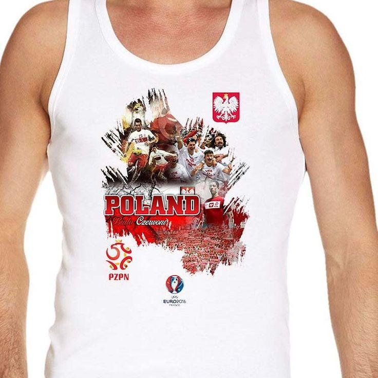 #Euro2016 #POLAND #BialoCzerwoni #whiteandreds #JakubBlaszczykowski #RobertLewandowski  #EUFA #EUFA16 #PES #Football #Sports #Championship #European #Season2016  #vest  #tanktop  #men